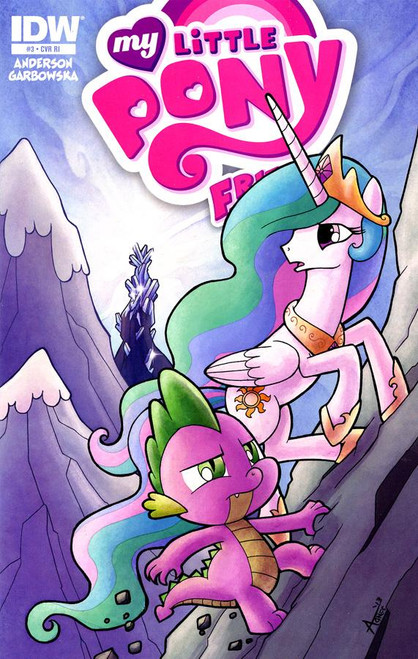 My Little Pony Friends Forever Comic Book #3 [Retailer Incentive]