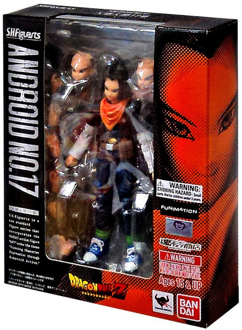 Dragon Ball Z S.H. Figuarts Android 17 Action Figure