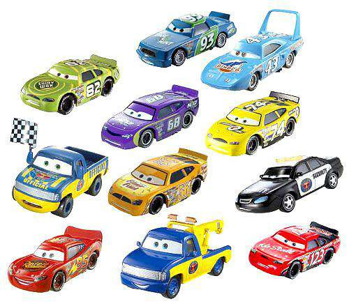 Disney Cars Piston Cup Collector Pack Diecast Car 11-Pack Set #1