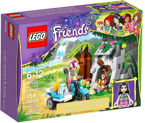 LEGO Friends First Aid Jungle Bike Set #41032