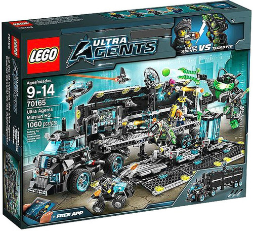 LEGO Ultra Agents Mission HQ Set #70165