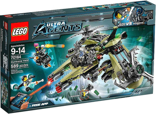 LEGO Agents Hurricane Heist Set #70164