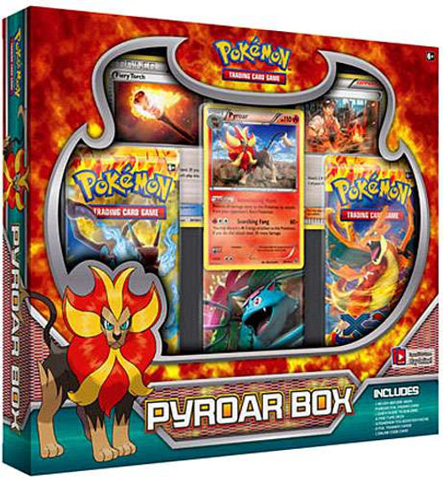 Pokemon XY Special Edition Pyroar Box