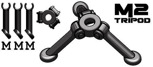 BrickArms Weapons M2 Tripod 2.5-Inch [Black]