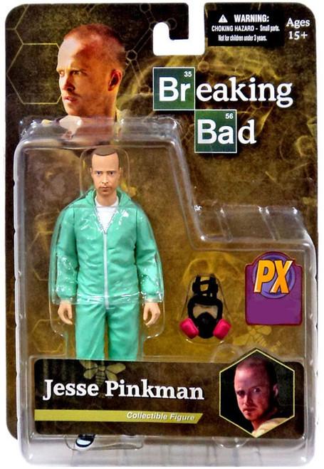 Breaking Bad Jesse Pinkman Exclusive Action Figure [Blue Hazmat Suit]