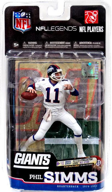 McFarlane Toys NFL New York Giants Sports Picks Legends Series 6 Phil Simms Action Figure [White Jersey]
