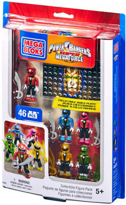 Mega Bloks Power Rangers Collectible Figure Pack Set #5699