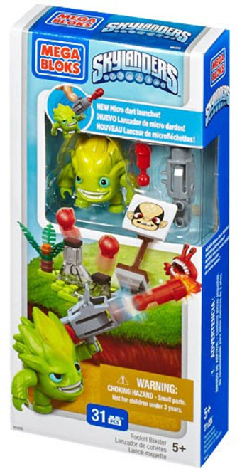 Mega Bloks Skylanders Swap Force Rocket Blaster Battle Pack Set #95305