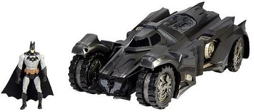 DC Comics Multiverse Arkham Knight Batmobile & Batman Exclusive Action Figure Set