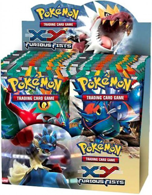 Pokemon XY Furious Fists Booster Box [36 Packs] [Sealed]