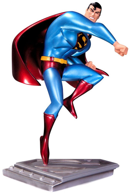 DC The Man of Steel Animated Superman Statue