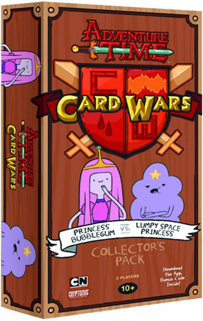 Adventure Time Card Wars Princess Bubblegum vs Lumpy Space Princess Collector's Pack