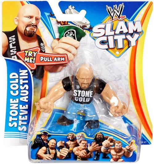 WWE Wrestling Slam City Stone Cold Steve Austin Action Figure