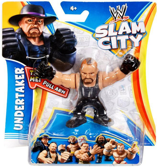 WWE Wrestling Slam City Undertaker Action Figure