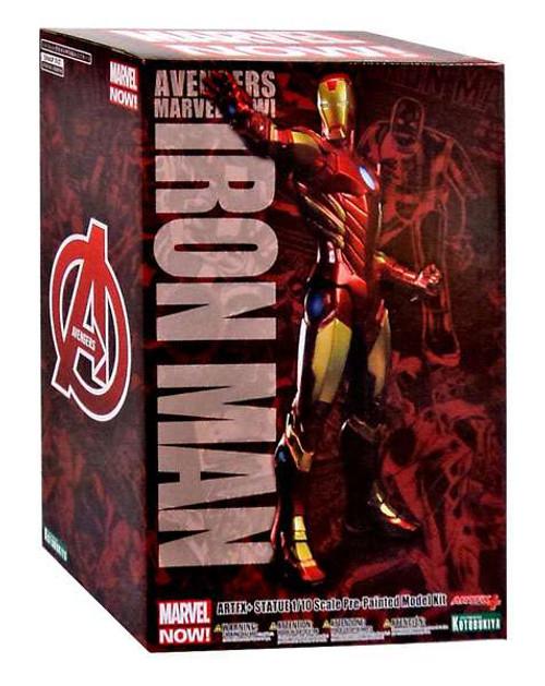 Avengers ArtFX Marvel Now Iron Man 1/10 Statue [Red Variant]