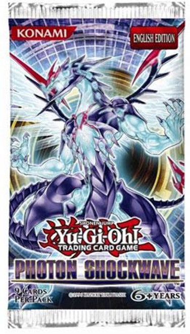 YuGiOh Photon Shockwave Booster Pack [Sealed]