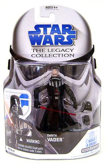 Star Wars Return of the Jedi Legacy Collection 2008 Droid Factory Darth Vader Action Figure BD08 [Unmasked]