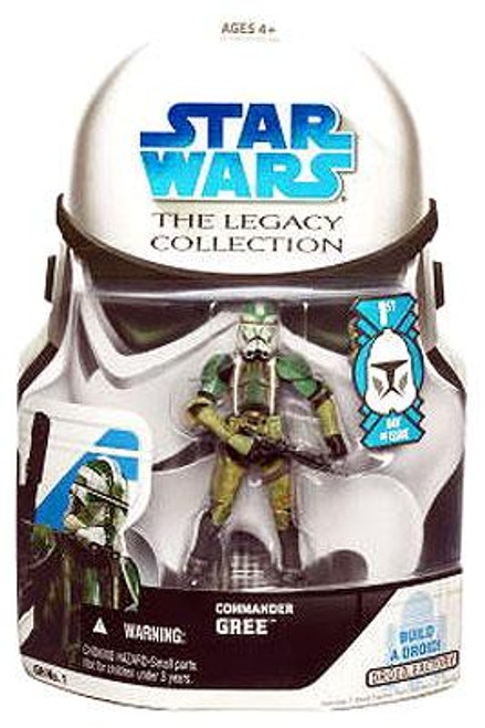 Star Wars Revenge of the Sith Legacy Collection 2008 Droid Factory Commander Gree Action Figure GH01 [First Day of Issue]