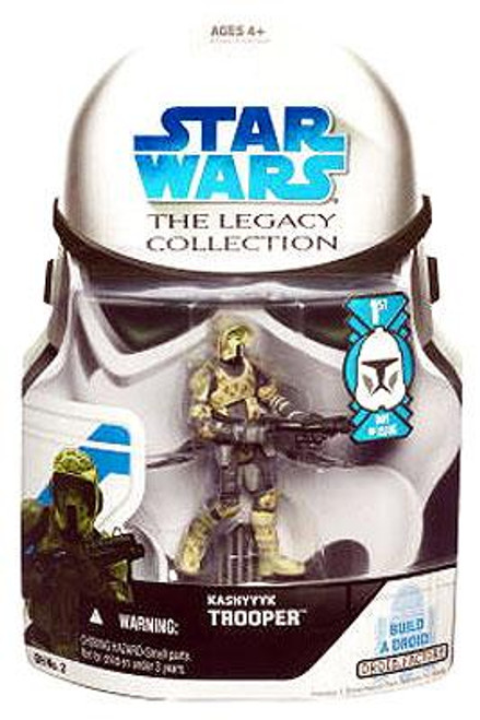 Star Wars Revenge of the Sith Legacy Collection 2008 Droid Factory Kashyyyk Scout Trooper Action Figure GH02 [First Day of Issue]