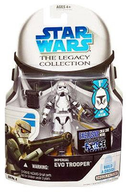 Star Wars The Clone Wars Legacy Collection 2008 Droid Factory Imperial Evo Trooper Action Figure GH04 [First Day of Issue]