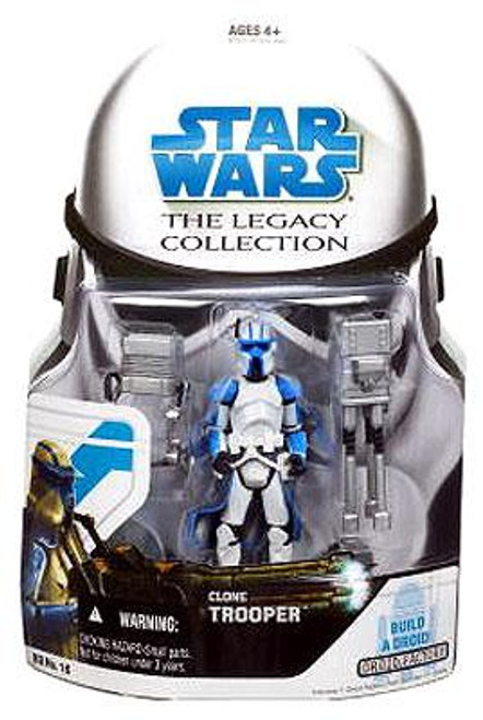 Star Wars The Clone Wars Legacy Collection 2008 Droid Factory Clone Trooper Action Figure BD16 [Quad Cannon]