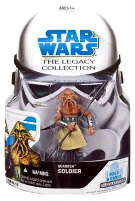 Star Wars The Clone Wars Legacy Collection 2008 Droid Factory Quarren Soldier Action Figure BD15