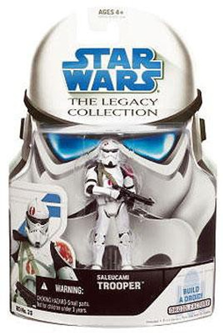 Star Wars The Clone Wars Legacy Collection 2008 Droid Factory Saleucami Clone Trooper Action Figure BD20