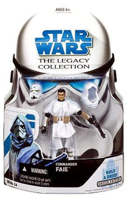 Star Wars The Clone Wars Legacy Collection 2008 Droid Factory Commander Faie Action Figure BD24