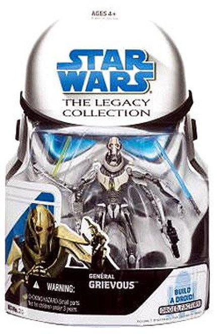 Star Wars Revenge of the Sith Legacy Collection 2008 Droid Factory General Grievous Action Figure BD25