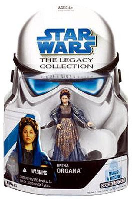 Star Wars Revenge of the Sith Legacy Collection 2008 Droid Factory Breha Organa Action Figure BD27
