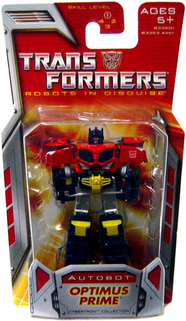 Transformers Robots in Disguise Classics Optimus Prime Legends Action Figure
