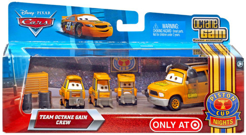 Disney Cars Multi-Packs Team Octane Gain Diecast Car Set