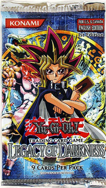 YuGiOh Legacy of Darkness (1st Edition) Booster Pack [Sealed]