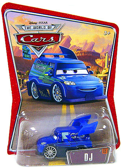 Disney Cars The World of Cars Series 1 DJ Diecast Car