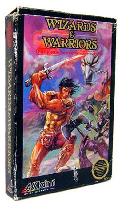 Nintendo NES Wizards & Warriors Video Game Cartridge