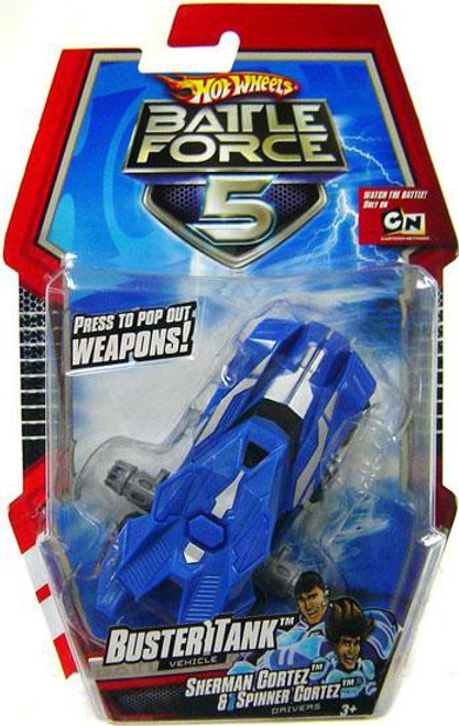 Hot Wheels Battle Force 5 Buster Tank Diecast Vehicle