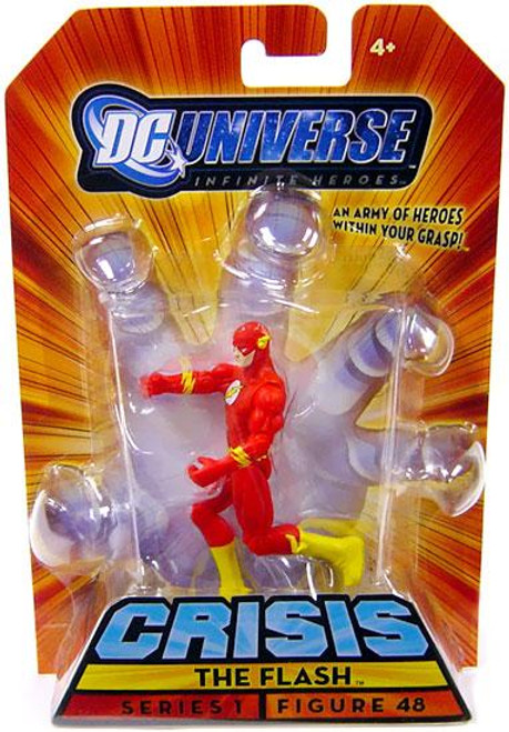 DC Universe Crisis Infinite Heroes Series 1 The Flash Action Figure #48