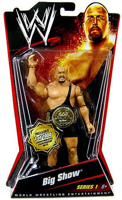 WWE Wrestling Series 1 Big Show Action Figure [Limited Edition]