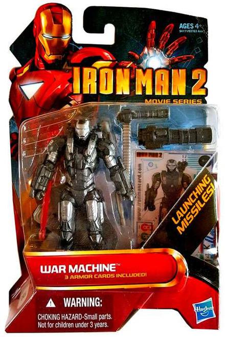 Iron Man 2 Movie Series War Machine Action Figure #12