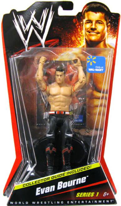 WWE Wrestling Series 1 Evan Bourne Exclusive Action Figure