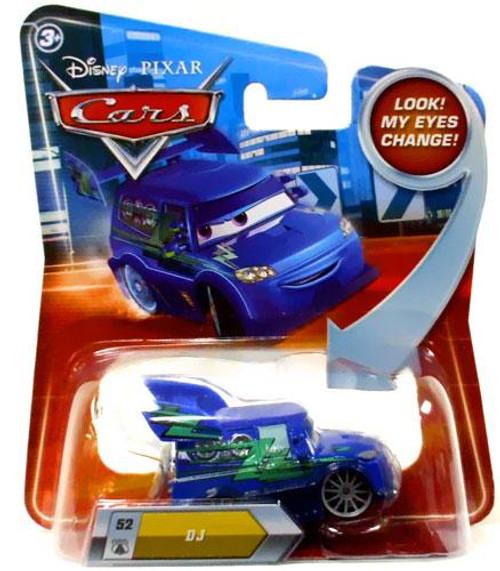 Disney Cars Lenticular Eyes Series 2 DJ Diecast Car