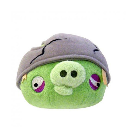 Angry Birds Helmet Pig 5-Inch Plush [With Sound]
