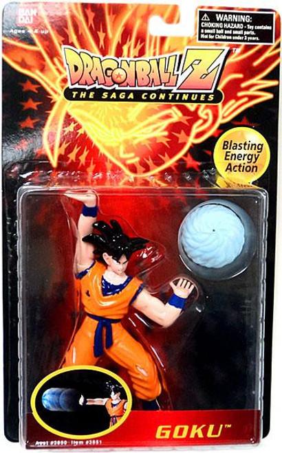 Dragon Ball Z The Saga Continues Goku Action Figure