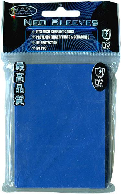 Card Supplies Neo Sleeves Flat Reflex Blue Standard Card Sleeves [50 ct]