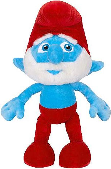 The Smurfs Movie Papa Smurf Exclusive 21-Inch Plush Figure