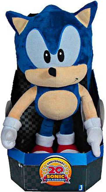 Sonic The Hedgehog 20th Anniversary Sonic 15-Inch Plush [Classic]