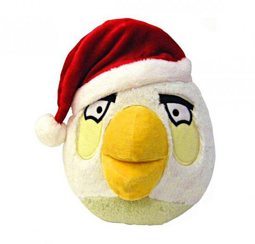 Angry Birds White Bird 5-Inch Plush [Christmas]