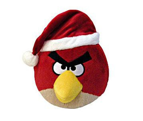 Angry Birds Red Bird 5-Inch Plush [Christmas]