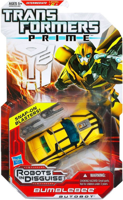 Transformers Prime Robots in Disguise Bumblebee Deluxe Action Figure