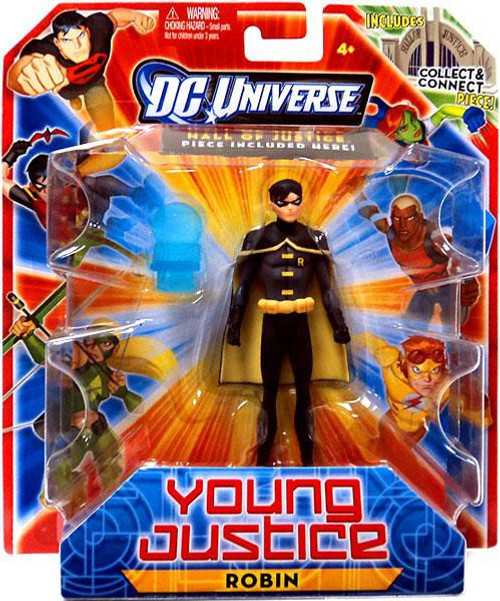 DC Universe Young Justice 4 Inch Robin Action Figure